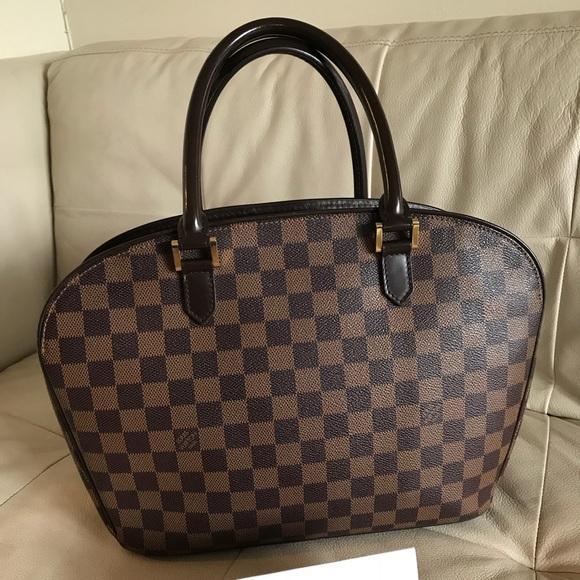 Louis Vuitton Handbags - Louis Vuitton Sarria Horizontal Bag Damier Ebene 5314c41d90